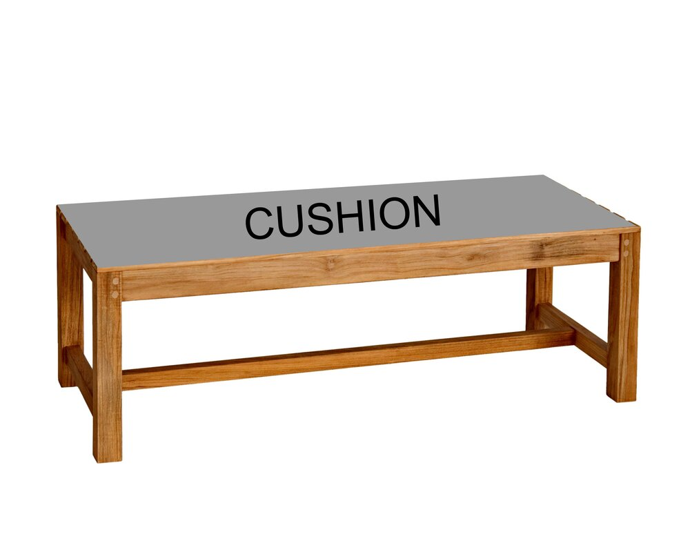 Charleston Outdoor Bench Cushion