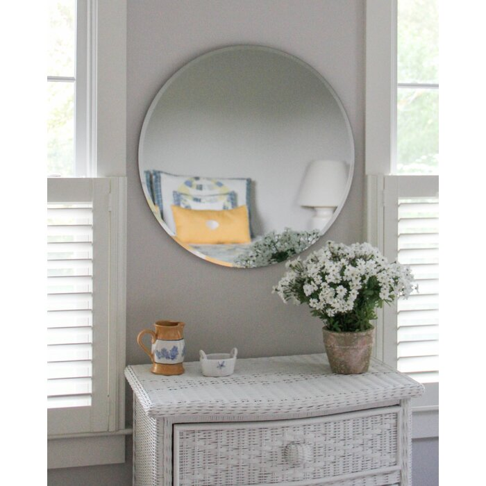 Westport Beveled Frameless Wall Mirror