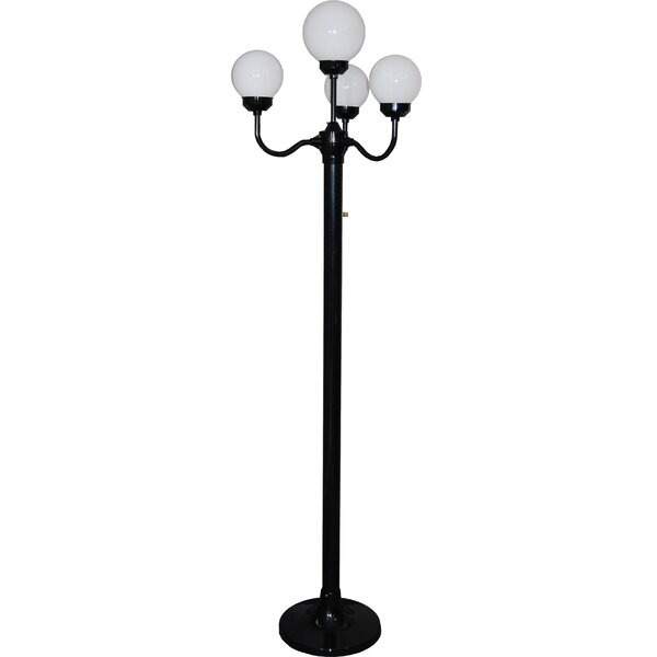 cast aluminum inch fitter solar kemeco light fixture base dp with for led ac outdoor post