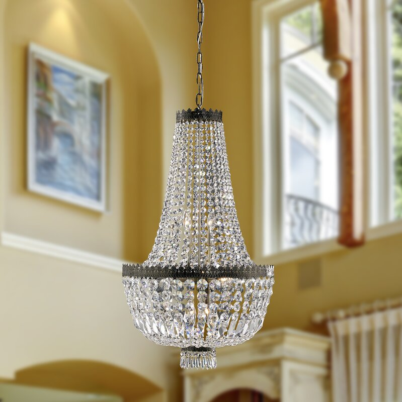 Rosdorf Park Brooks Bay 8-Light Chain Empire Chandelier & Reviews ...