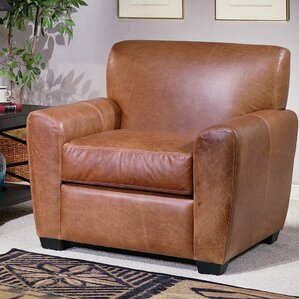 Omnia Leather Jackson Leather Armchair Image