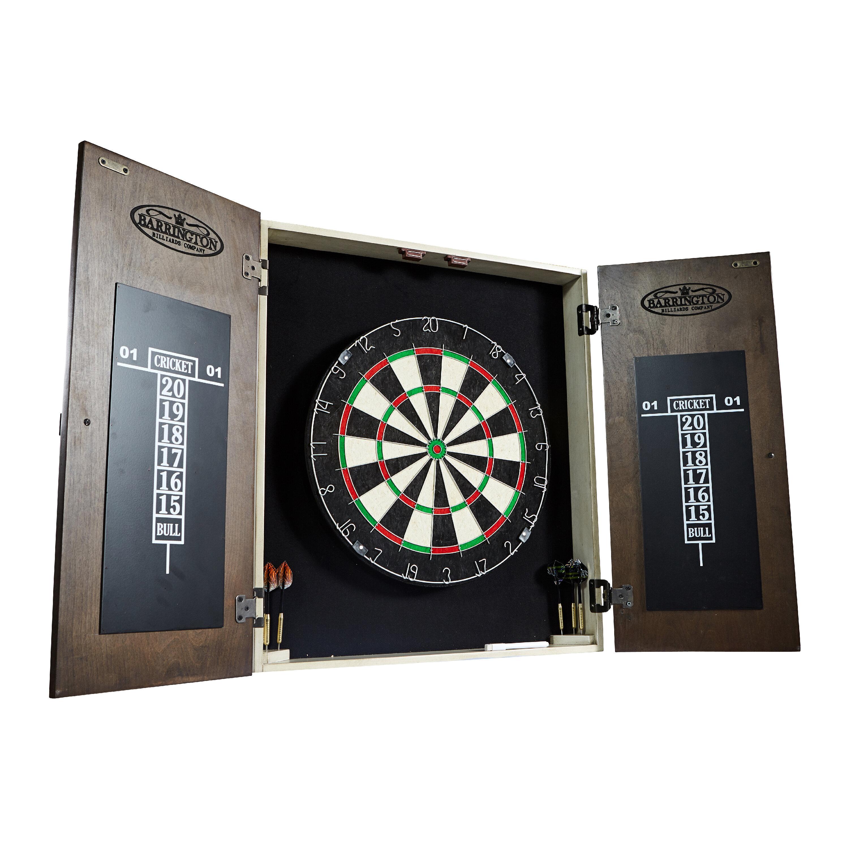 Enjoyable Bellevue Premium Bristle Dartboard And Cabinet Set With Darts Home Interior And Landscaping Dextoversignezvosmurscom