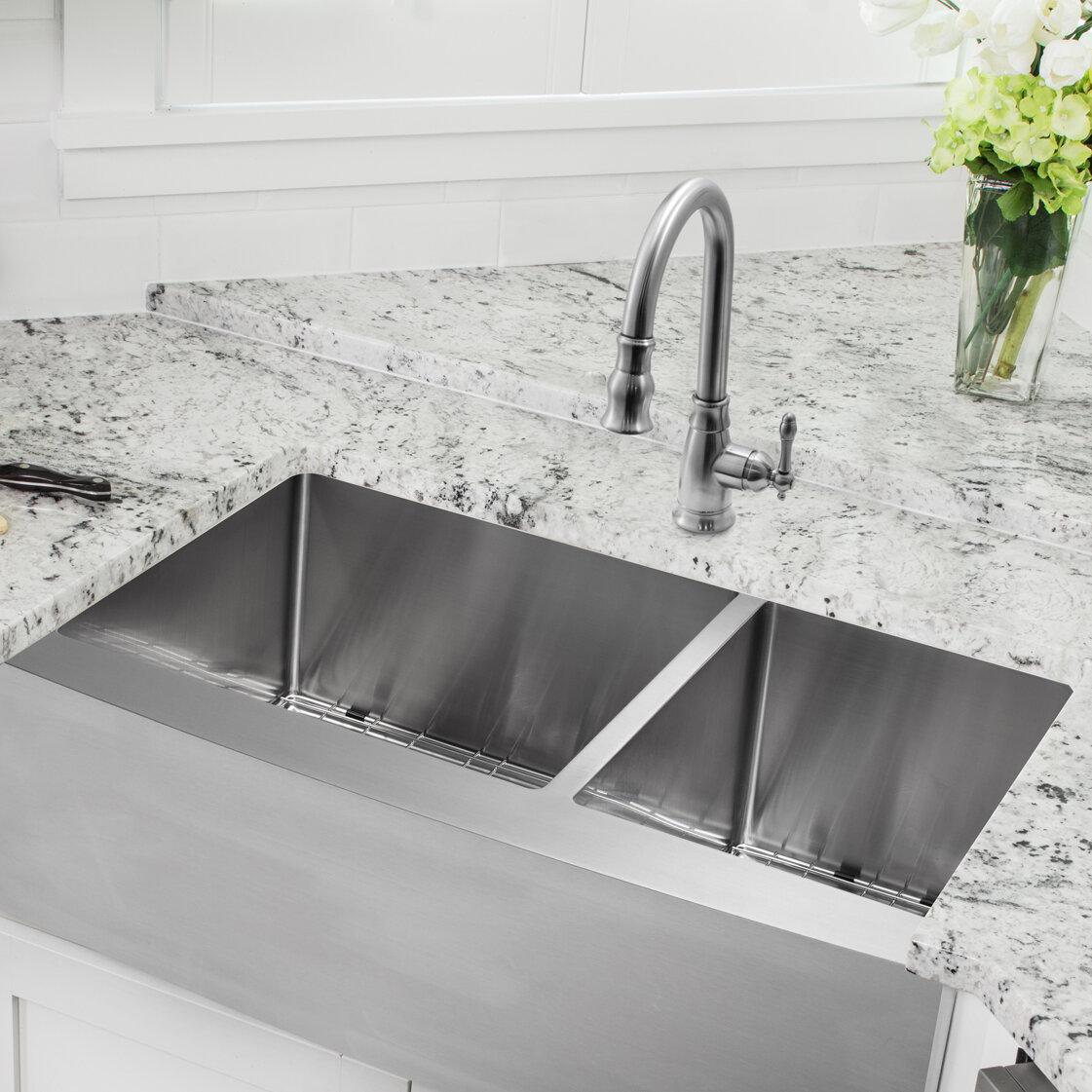 Undermount Kitchen Sink With Prep on large stainless sink, small round prep sink, upc sink, blanco 40 60 sink, laminate undermount sink, best 16-gauge kitchen sink, extra large kitchen sink, offset kitchen sink, 24 double bowl undermount sink, double bowl apron front sink, mosaic tile sink, 24 kitchen sink, stainless steel deep sink, double kitchen sink, triple bowl kitchen sink, 60 40 stainless sink, 60 40 integrated kitchen sink, low divide sink, elkay undermount sink,