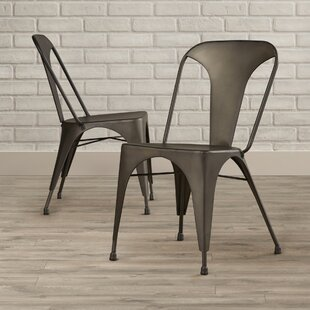 Spohn Flynn Stacking Patio Dining Chair (Set of 2)