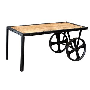 canonero coffee table with wheels