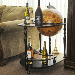 Globe Drinks Trolley 420mm-Red