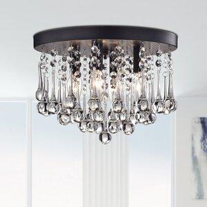 Alya 4-Light LED Flush Mount & Flush Mount Lighting Youu0027ll Love | Wayfair azcodes.com