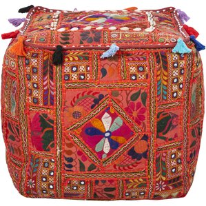 Chevalier Square Pouf Ottoman by World Menagerie