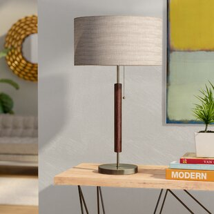 Mid century modern table lamps youll love wayfair hyannis 2625 table lamp aloadofball Gallery