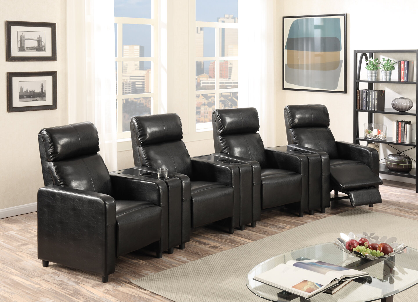 Ketter Home Theater Row Seating (Row of 4)