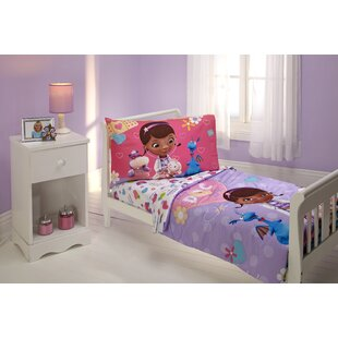Great The Doc Is In 4 Piece Doc McStuffins Toddler Bedding Set