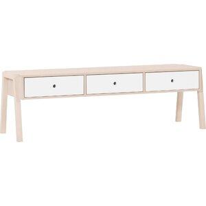 Schlafzimmerbank mit Stauraum aus Holz von Meble..