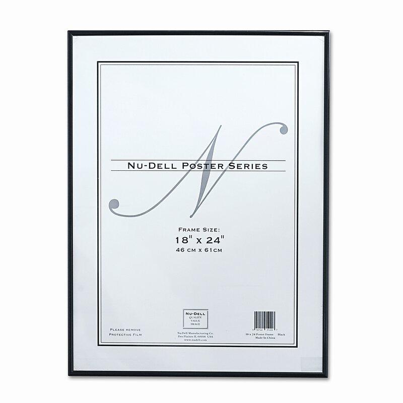 Nu-Dell Metal Poster Frame, Plastic Face & Reviews | Wayfair