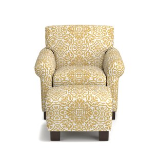 Roselle Armchair And Ottoman (Set Of 2)