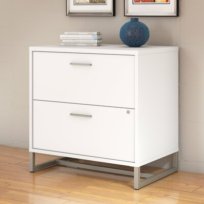 Method 2 Drawer Lateral Filing Cabinet Kathy Ireland Office by Bush Finish: White