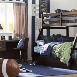 Reece Twin Over Full Bunk Bed With Storage Ladder And Trundle