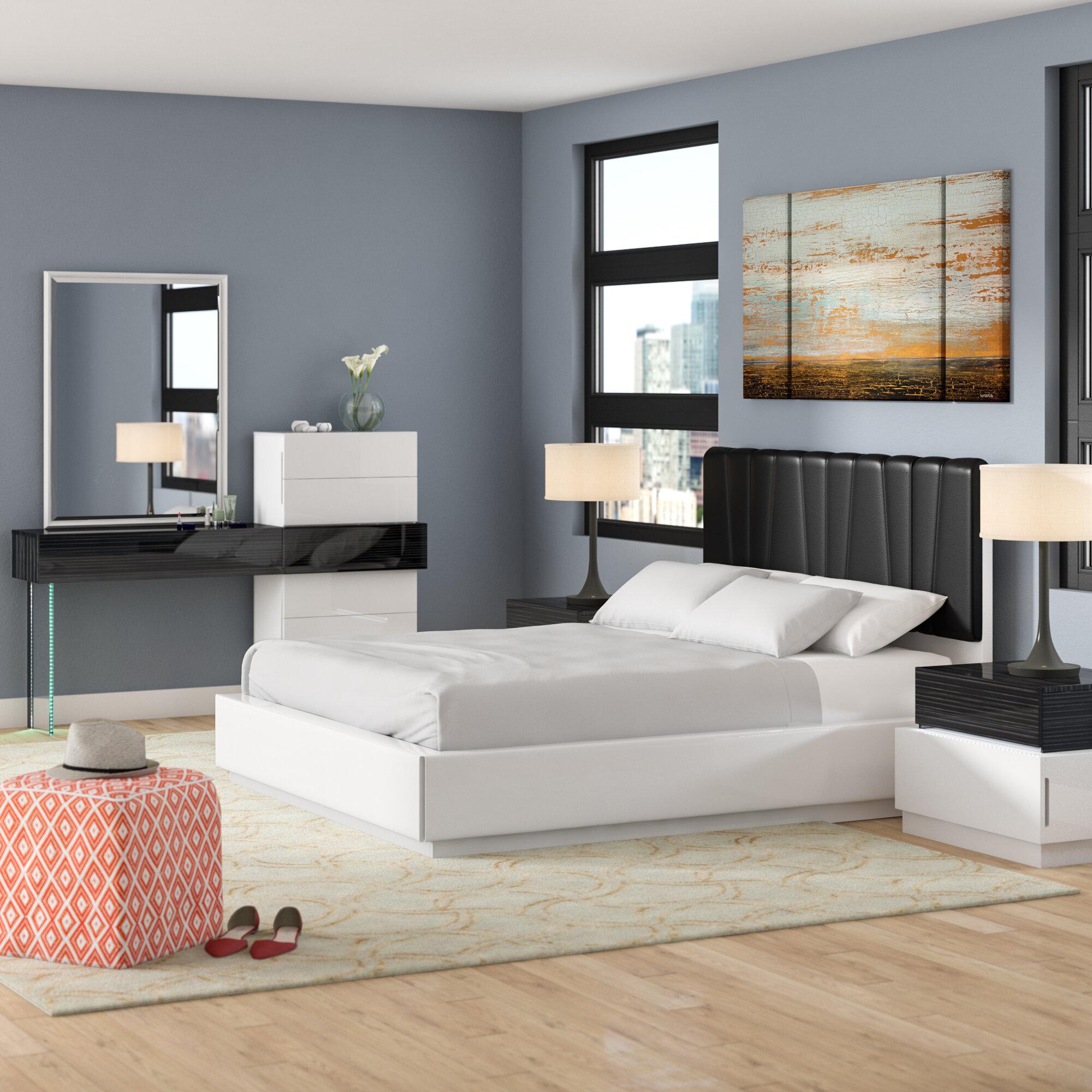 Linehan Platform 5 Piece Bedroom Set