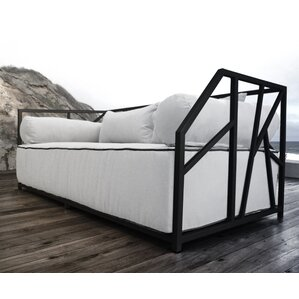 nidum deep seated patio modern daybed with cushions - Modern Daybed
