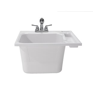 25 X 22 Drop In Laundry Sink With Faucet