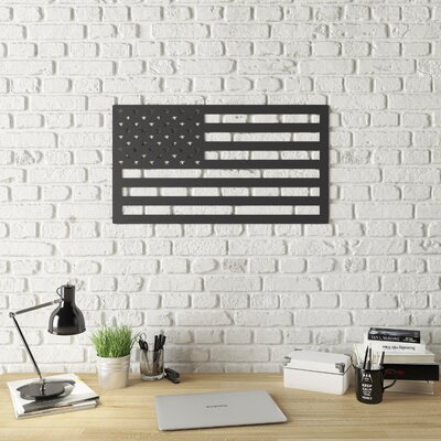 Stars And Stripes Metal Wall Décor