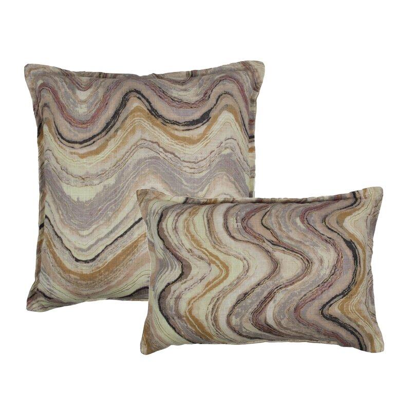 Sherry Kline Ipanema Waves Decorative Outdoor Throw Lumbar Pillows Extraordinary Decorative Outdoor Lumbar Pillows