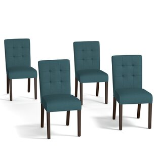 upholstered dining chairs set of 4 brisbane isidora upholstered dining chair set of 4 chairs birch lane