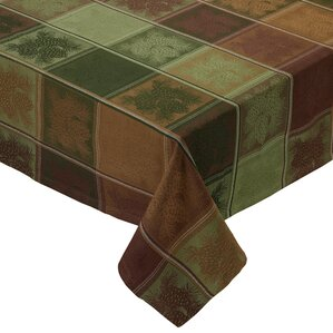 Ashling Mountain Pine Jacquard Tablecloth