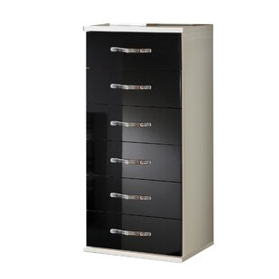 Trio Tall 6 Drawer Chest Of Drawers