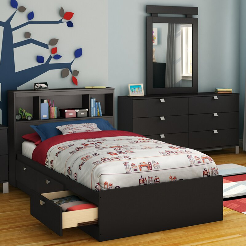 spark twin mateu0027s bed with storage