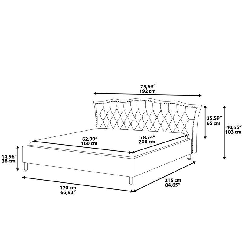 Home Loft Concept Bettrahmen mit Stauraum | Wayfair.de