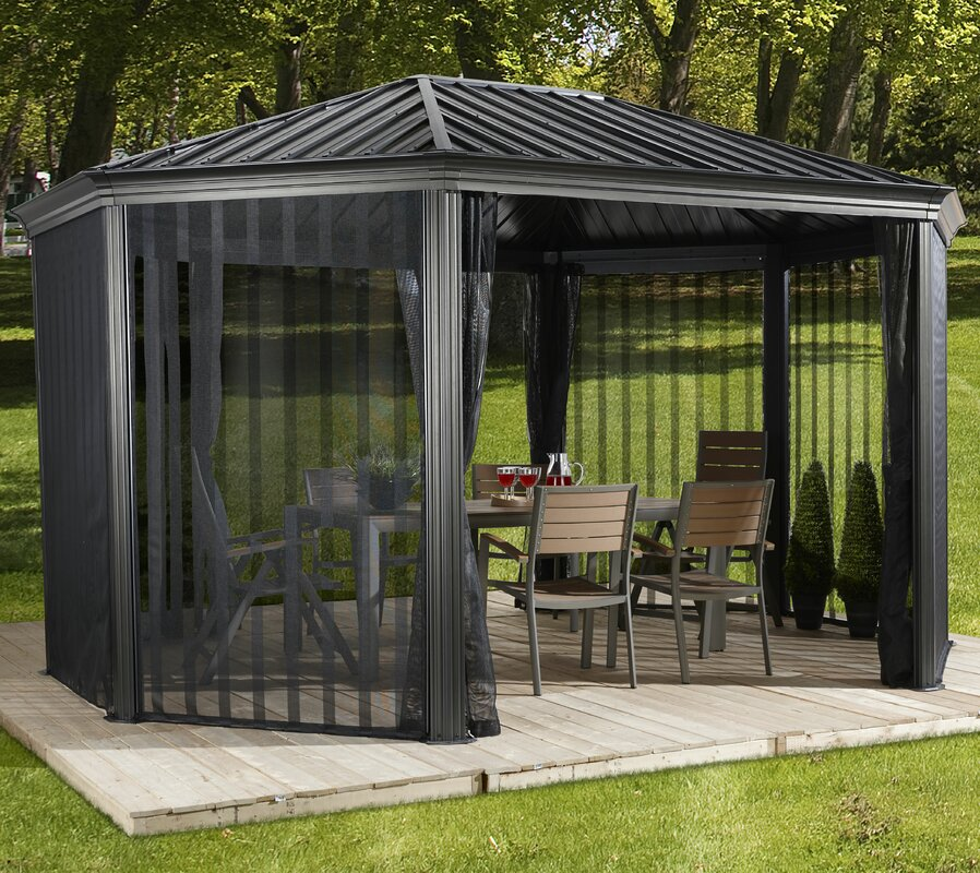 Sojag Komodo 15 Ft W X 12 Ft D Steel Permanent Gazebo