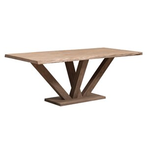 Dalton Wood Dining Table by Caribou Dane
