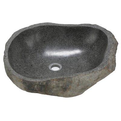 BareDecor Rio Stone Specialty Vessel Sink Faucet Bathroom Sink