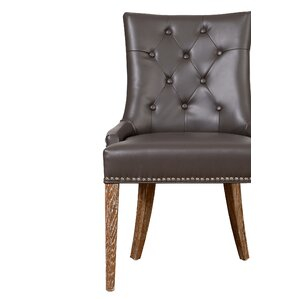 Bing Upholstered Dining Chair by Darby Home Co