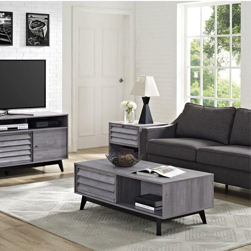 grey coffee table sets you'll love | wayfair
