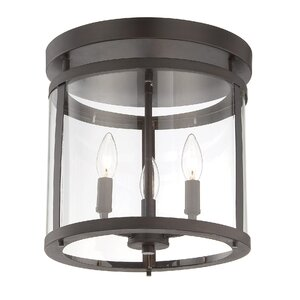 Aldergrove 3-Light Semi Flush Mount