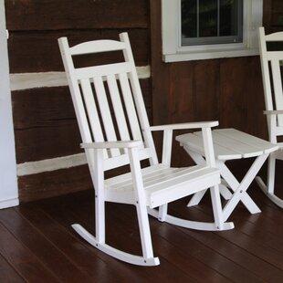 White Front Porch Rockers | Wayfair