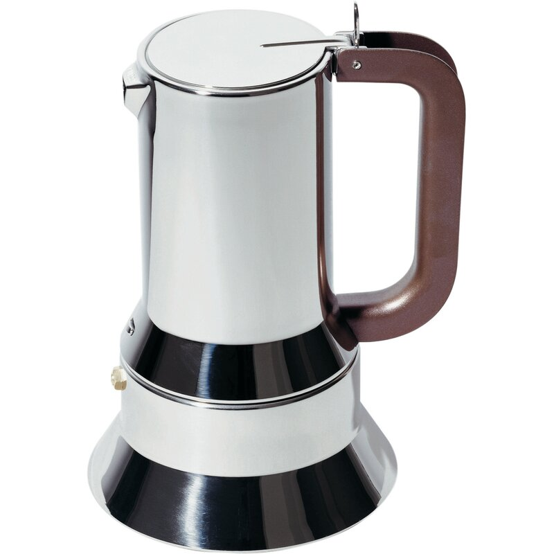Alessi  Richard Sapper Espresso Maker  Size: 3 cup
