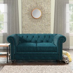 Lindstrom Tufted Chesterfield Loveseat