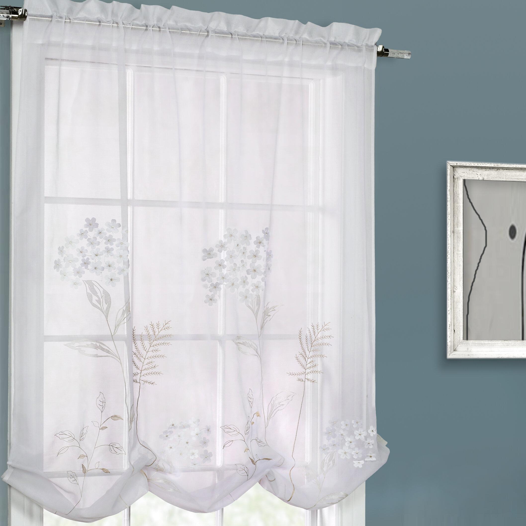 Ordinaire August Grove Irenee Adjustable Window Tie Up Shade U0026 Reviews | Wayfair