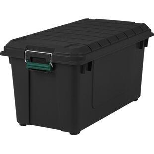 Charmant 21.8 Gallon Weathertight Storage Tote