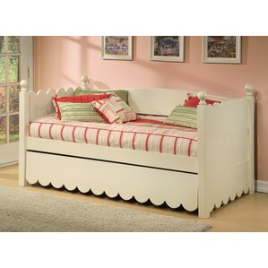 Scallop Daybed with Pop-Up Trundle by ..