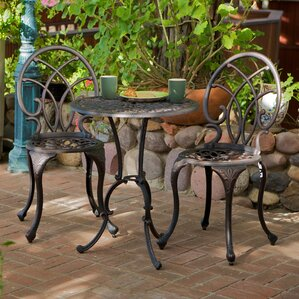 Metal Outdoor Patio Furniture metal patio furniture you'll love | wayfair