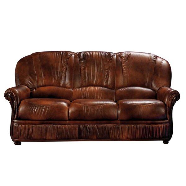 Light Brown Leather Sofa | Wayfair
