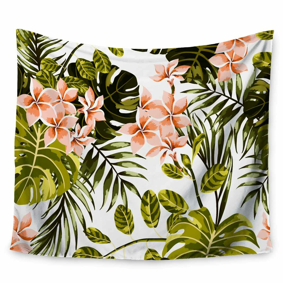 East Urban Home Mmartabc Pattern Tropical Tapestry And Wall Hanging Wayfair