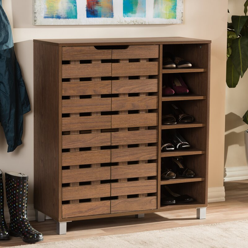18-Pair Shoe Storage Cabinet