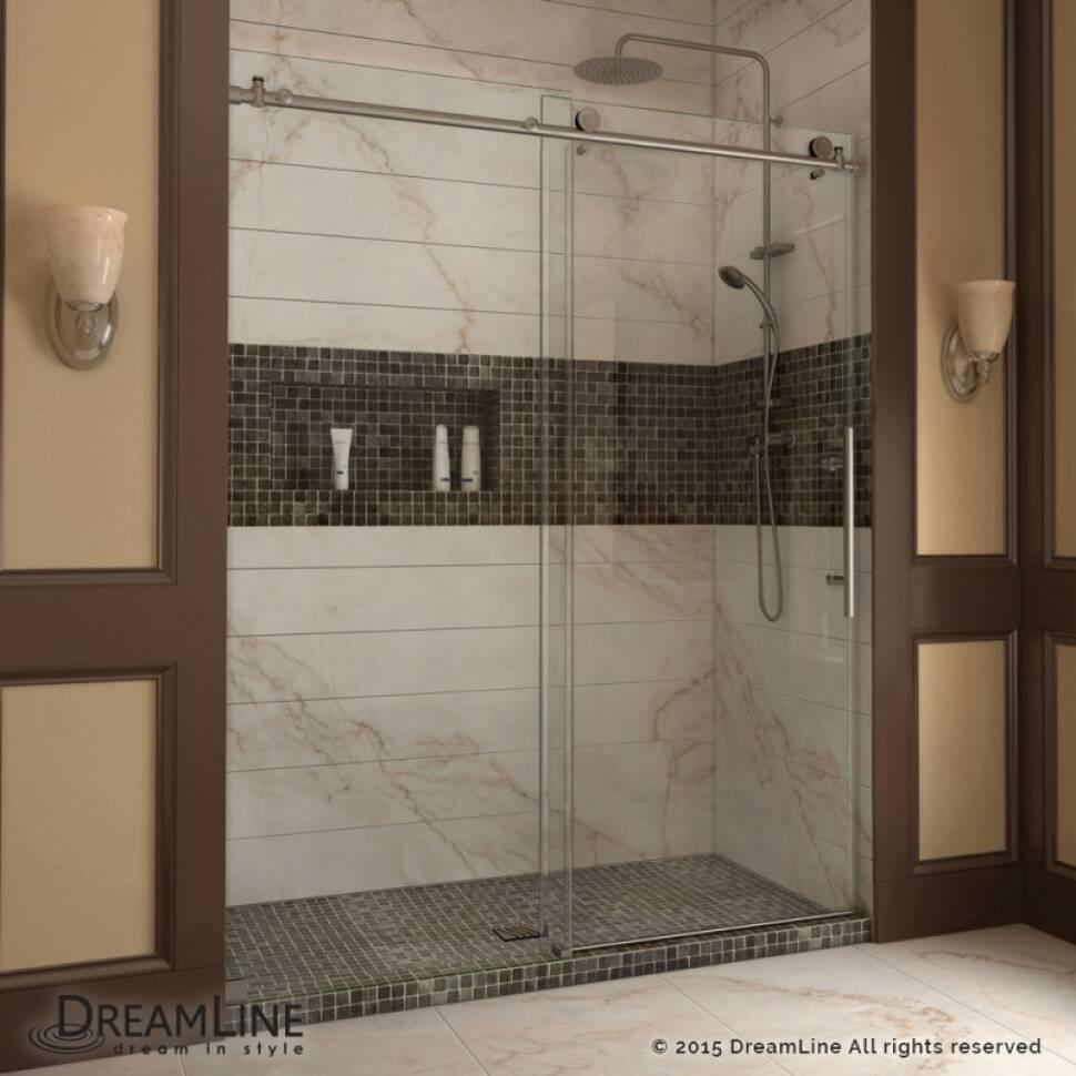 Luxury Fully Frameless Sliding Shower Door