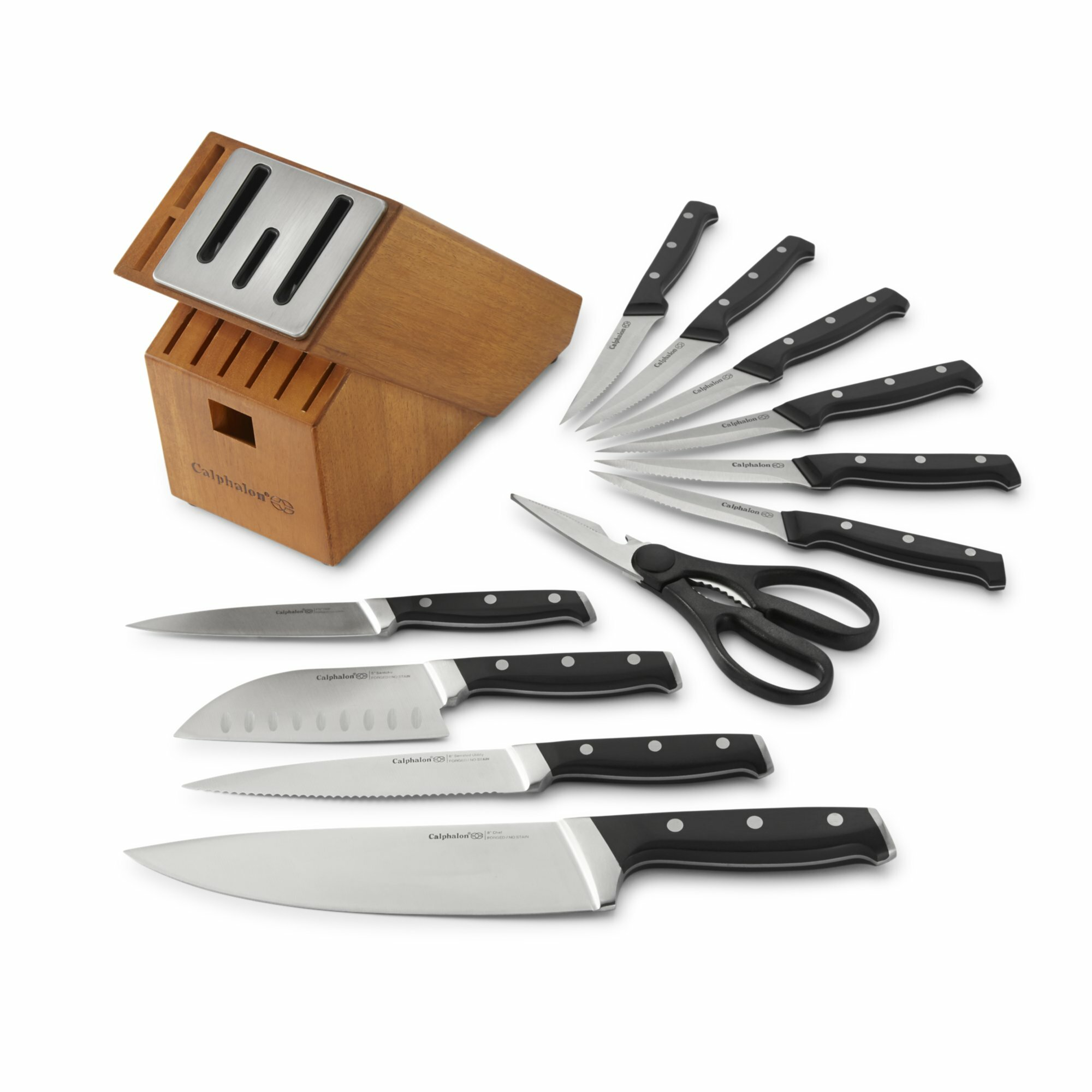 Calphalon Classic Sharpin 12 Piece Self Sharpening Knife Set