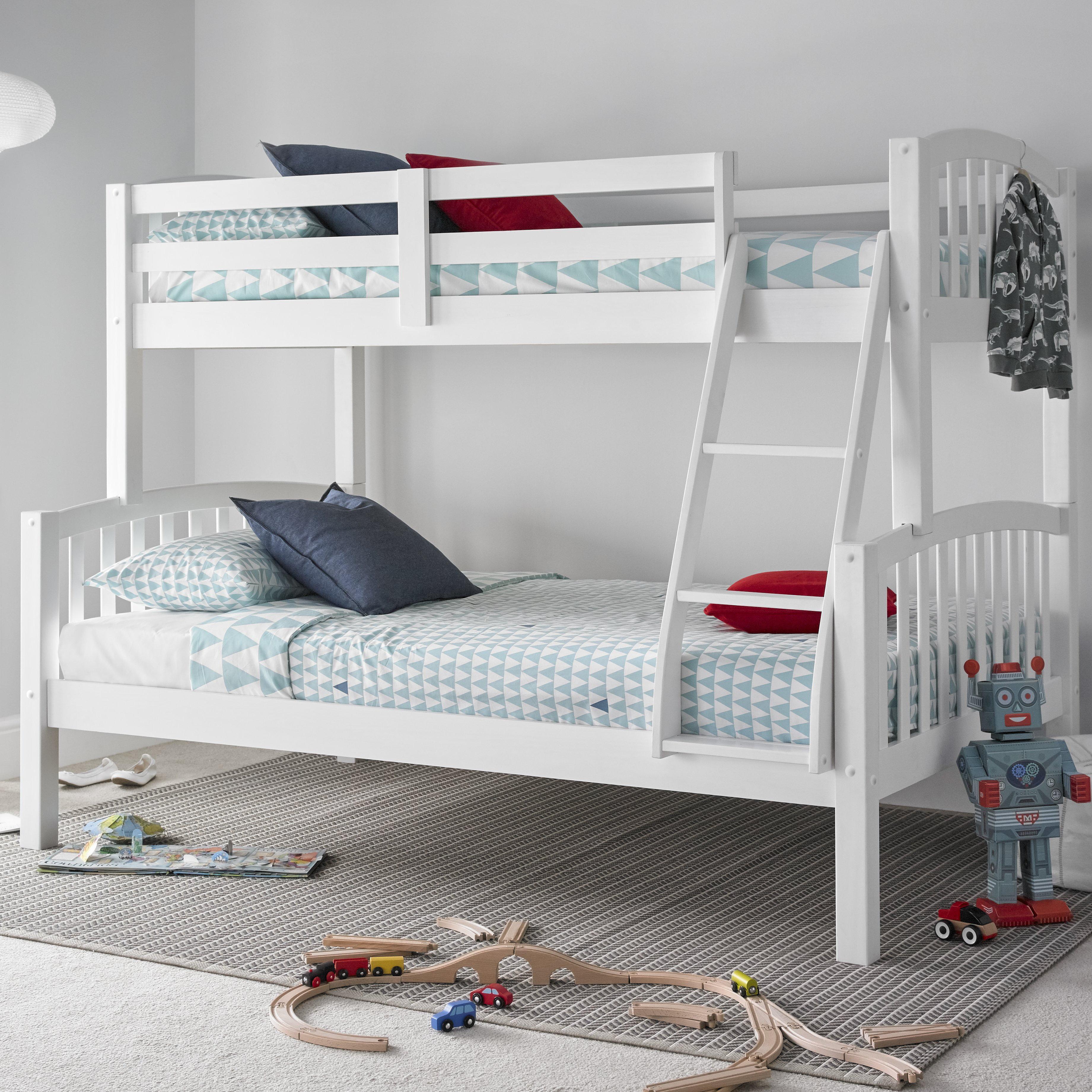 d2aa4deb759a Harriet Bee Aaliyah Bunk Bed with Mattresses & Reviews   Wayfair.co.uk