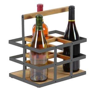 Campa Modern 6-Bottle Tabletop Wine Bottle Rack
